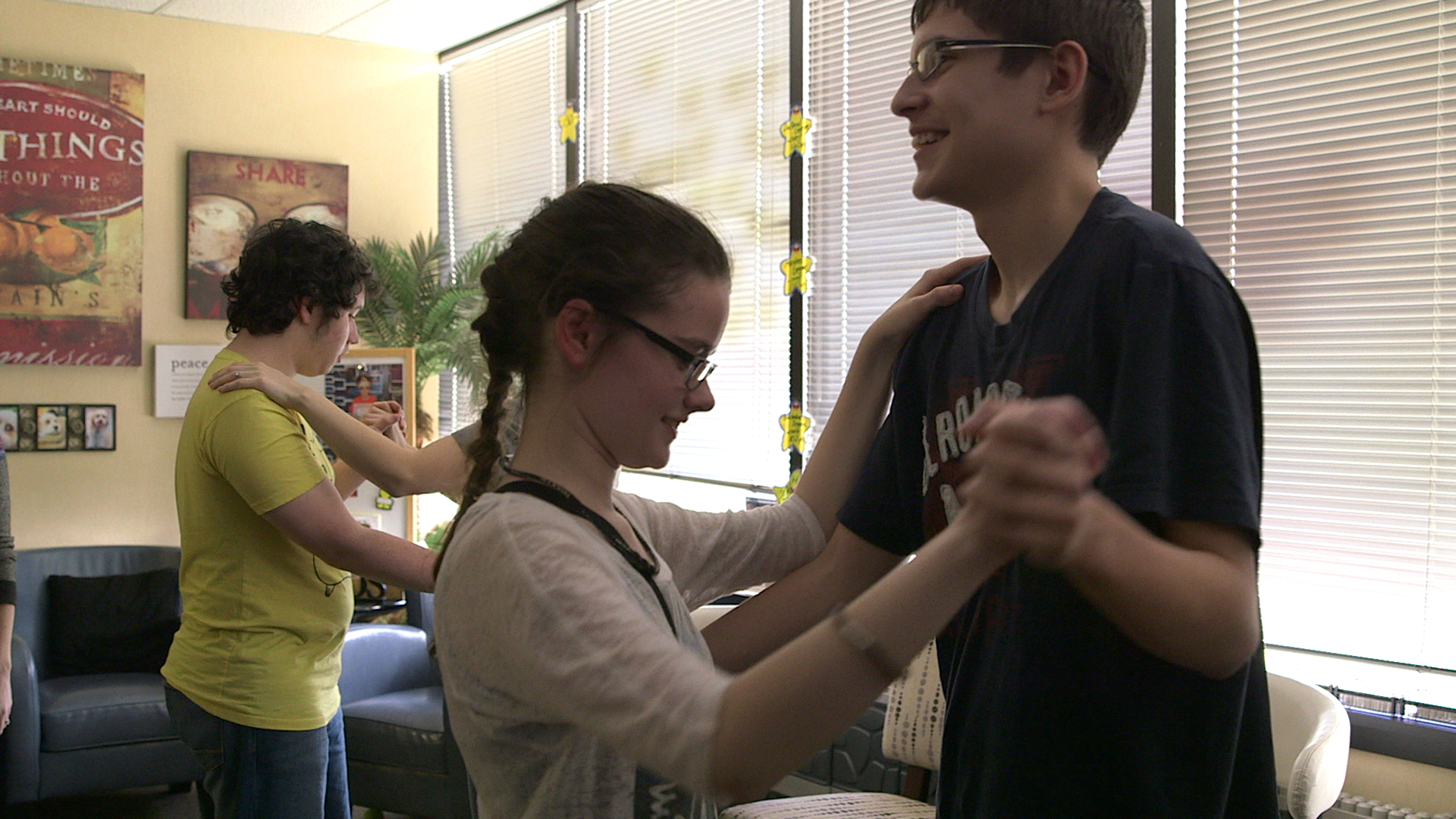 Autistic youths prepare for a formal dance in How To Dance In Ohio