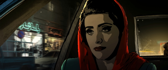 A scene from <i>Tehran Taboo</i>, courtesy Kino Lorber.