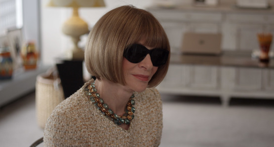 Anna Wintour in a scene from the film, courtesy Kino Lorber.