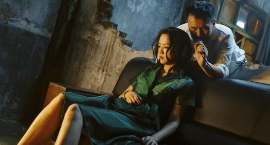Wei Tang, Yongzhong Chen in a scene from <i>Long Day's Journey Into Night</I>. Photo by Liu Hongyu, courtesy Kino Lorber.