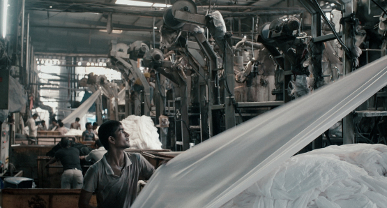 A scene from Rahul Jain's <i>Machines</i>. Courtesy Kino Lorber.