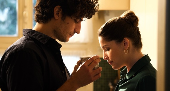 Louis Garrel and Laetitia Casta in a scene from <i>A Faithful Man</i>, courtesy Kino Lorber