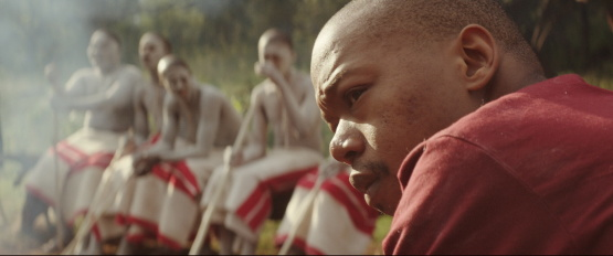 Nakhane Touré in <i>The Wound</i>, courtesy Kino Lorber
