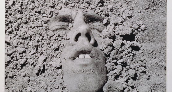 David Wojnarowicz, Untitled (Face in Dirt), 1991. © Estate of David Wojnarowicz. Courtesy of the Estate and P.P.O.W