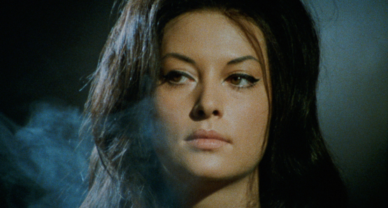 Fabienne Dali as Ruth, the sorceress, in Mario Bava's KILL, BABY...KILL!