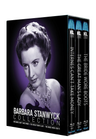 Barbara Stanwyck Collection [Internes Can't Take Money / The Great Man's Lady / The Bride Wore Boots]