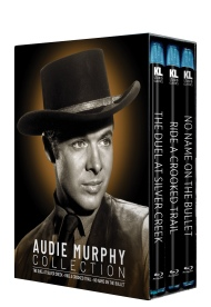 Audie Murphy Collection [The Duel at Silver Creek/Ride a Crooked Trail/No Name on the Bullet]