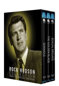 Rock Hudson Collection [Seminole / The Golden Blade / Bengal Brigade]